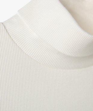 Tee-shirt fille à manches longues et col roulé vue2 - GEMO C4G FILLE - GEMO