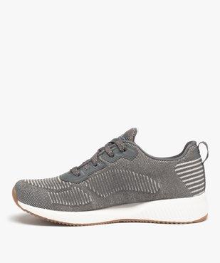 Tennis femme à lacets extra légères en mesh – Skechers Bobs vue3 - SKECHERS - Nikesneakers