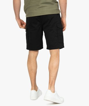 Bermuda homme multipoche à taille élastiquée vue3 - Nikesneakers (HOMME) - Nikesneakers