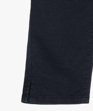 Pantacourt fille en toile avec ceinture tressée vue2 - GEMO (ENFANT) - GEMO