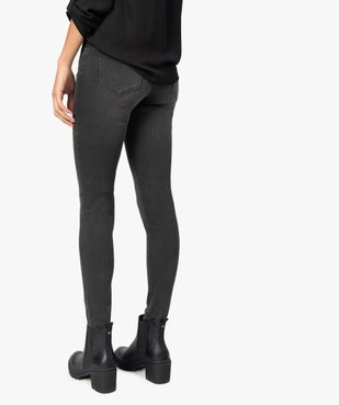 Jean femme coupe skinny taille normale vue3 - GEMO(FEMME PAP) - GEMO