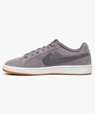 Baskets basses Nike Court Royale Suede vue3 - NIKE - GEMO