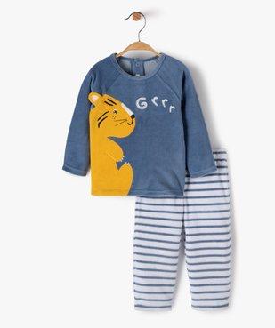 Pyjama bébé garçon 2 pièces avec motif lionceau  vue1 - GEMO(BB COUCHE) - GEMO