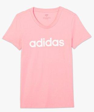 Tee-shirt femme à manches coutes - Adidas vue4 - ADIDAS - GEMO