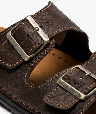Sandales homme avec deux boucles sur le dessus vue6 - GEMO (CASUAL) - GEMO