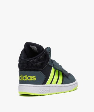 Baskets bébé garçon semi-montantes – Adidas Hoops Mid vue4 - ADIDAS - GEMO
