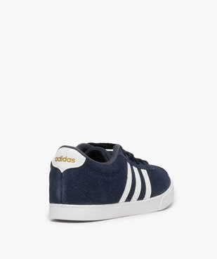 Tennis femme dessus cuir à lacets – Adidas Courtset vue4 - ADIDAS - Nikesneakers