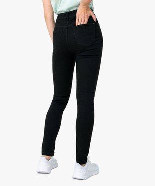 Jean femme skinny taille normale vue3 - GEMO(FEMME PAP) - GEMO