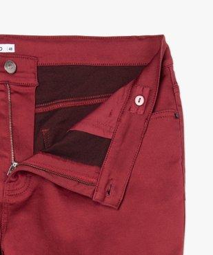 Pantalon femme coupe slim en maille extensible vue6 - GEMO (G TAILLE) - GEMO