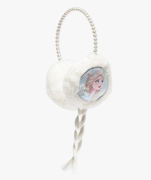 Cache-oreilles fille en matière peluche motif Reine des Neiges vue1 - REINE DES NEIGE - Nikesneakers
