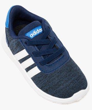 Basket bébé en toile avec double lacets - Adidas vue5 - ADIDAS - GEMO