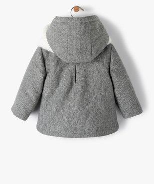 Manteau bébé fille avec écharpe douce - Lulu Castagnette vue5 - LULUCASTAGNETTE - GEMO