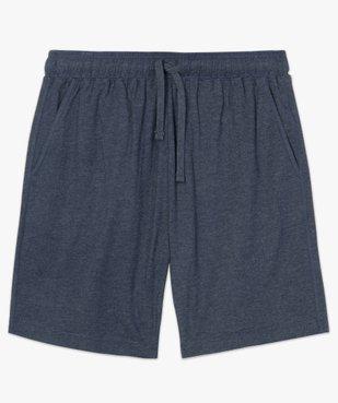 Short de pyjama homme en jersey à taille élastiquée vue4 - GEMO(HOMWR HOM) - GEMO
