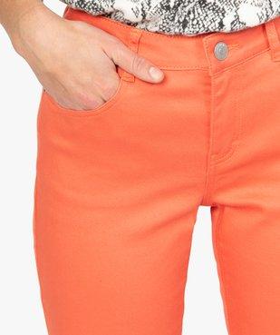Pantalon femme coupe Slim taille normale - L26 vue2 - GEMO(FEMME PAP) - GEMO