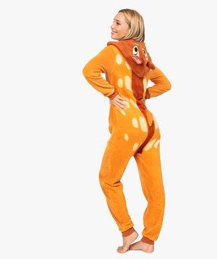 Combinaison d'intérieur femme à capuche à motif Bambi - Disney vue3 - DISNEY - GEMO