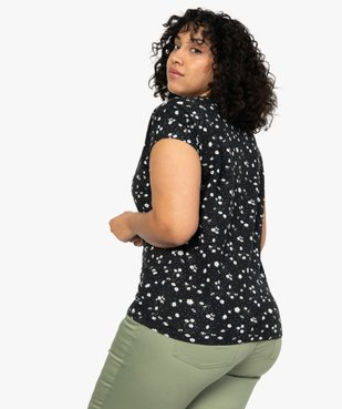 Tee-shirt femme à manches courtes à motifs vue3 - Nikesneakers (G TAILLE) - Nikesneakers