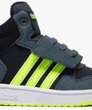 Baskets bébé garçon semi-montantes – Adidas Hoops Mid vue6 - ADIDAS - GEMO