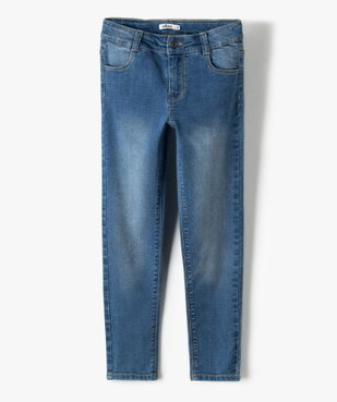 Jean fille coupe Slim taille+large en matière extensible vue1 - Nikesneakers (ENFANT) - Nikesneakers