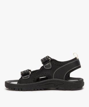 Sandales garçon multi-matières fermeture à scratch vue3 - Nikesneakers (ENFANT) - Nikesneakers