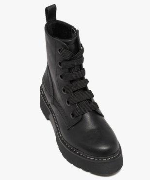 Boots femme à semelle plateforme crantée – Tom Tailor vue5 - TOM TAILOR - GEMO