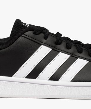 Baskets homme bicolores à lacets - Adidas Grand Court Base vue6 - ADIDAS - Nikesneakers