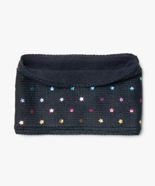 Écharpe snood bébé fille à étoiles irisées multicolores vue1 - GEMO(BEBE DEBT) - GEMO