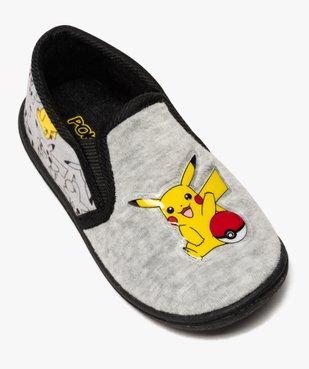 Chaussons garçon élastiqués en velours ras - Pokemon vue5 - POKEMON - GEMO