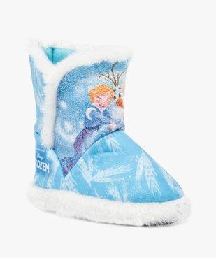 Chaussons montants - Disney La Reine des Neiges vue2 - REINE DES NEIGE - GEMO