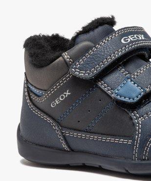 Baskets bébé garçon à scratchs et doublure douce – Geox vue6 - GEOX - GEMO