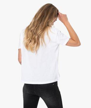 Tee-shirt femme large avec imprimé XXL - Disney vue3 - DISNEY - GEMO