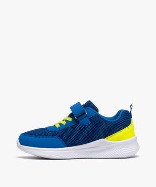 Chaussures de running garçon à lacets et scratch - Umbro vue3 - UMBRO - GEMO
