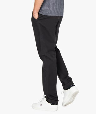 Pantalon homme chino stretch en maille piquée vue3 - Nikesneakers (HOMME) - Nikesneakers