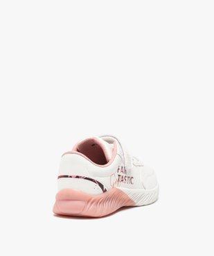 Baskets fille bicolores + Sac de Gym offert vue4 - GEMO (ENFANT) - GEMO
