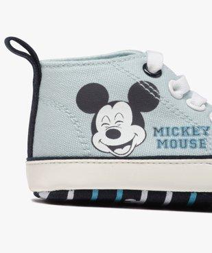 Tennis de naissance garçon en toile Mickey vue6 - MICKEY - Nikesneakers