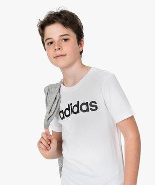 Tee-shirt garçon à manches courtes avec inscription - Adidas vue1 - ADIDAS - GEMO