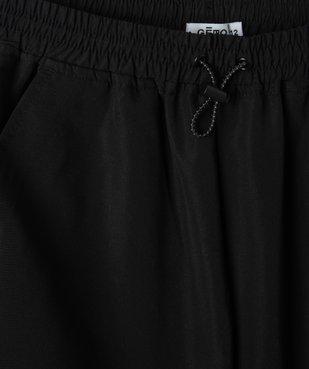 Pantalon de sport fille fluide avec bas resserré vue2 - GEMO (JUNIOR) - GEMO
