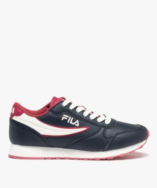 Baskets femme colorées à lacets – Fila Orbit Low vue1 - FILA - Nikesneakers