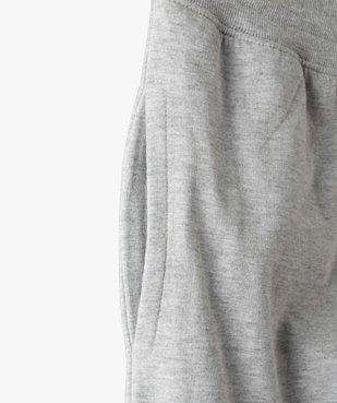Pantalon de jogging garçon avec intérieur molletonné vue2 - GEMO (JUNIOR) - GEMO