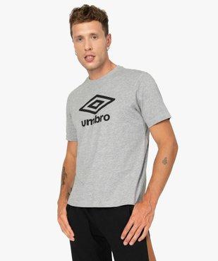 Tee-shirt homme à manches courtes avec inscription - Umbro vue2 - UMBRO - GEMO