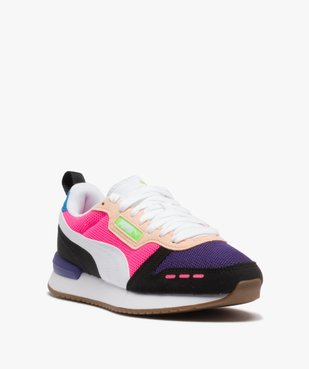 Baskets femme multicolores – Puma R78 vue2 - PUMA - Nikesneakers