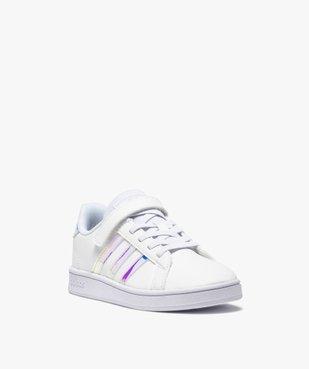 Baskets fille à détails irisés – Adidas Grand Court vue2 - ADIDAS - Nikesneakers