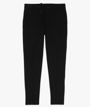 Pantalon homme en maille extensible avec pli sur l'avant vue4 - GEMO (HOMME) - GEMO