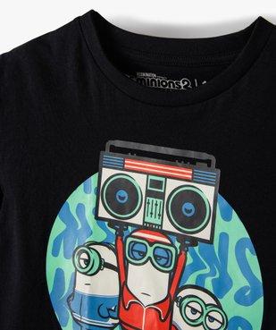Tee-shirt garçon imprimé - Les Minions 2 vue2 - NBCUNIVERSAL - GEMO