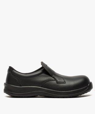 Chaussures de sécurité homme S2 forme mocassin vue1 - GEMO (SECURITE) - GEMO