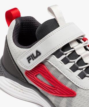 Baskets garçon en mesh à lacets et scratch – Fila Newmodel vue6 - FILA - GEMO