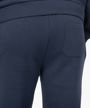 Pantalon de jogging homme contenant du coton bio vue2 - GEMO C4G HOMME - GEMO