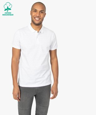 Polo homme à manches courtes et motifs vue1 - Nikesneakers C4G HOMME - Nikesneakers