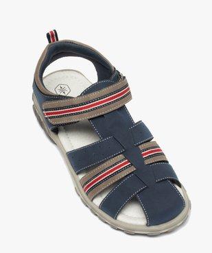 Sandales garçon à brides multiples et fermeture scratch vue5 - Nikesneakers (ENFANT) - Nikesneakers