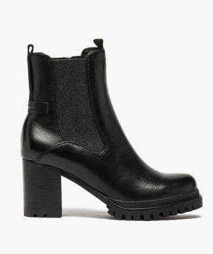Boots femme à talon carré et tige unie – Tom Tailor vue1 - TOM TAILOR - GEMO