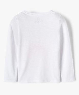 Tee-shirt fille à manches longues avec sequins brodés – Camps United vue4 - CAMPS UNITED - GEMO